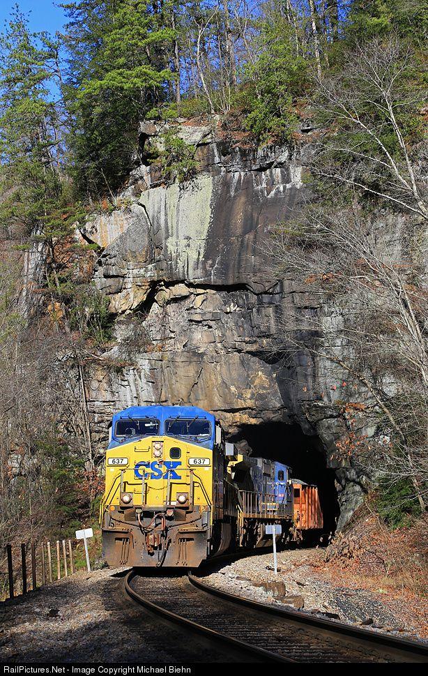 RailPictures Net Photo: CSX 637 CSX Transportation (CSXT) GE