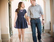 Mehlberg couple!  A&C Photography | Engagement Photography | Disneyland