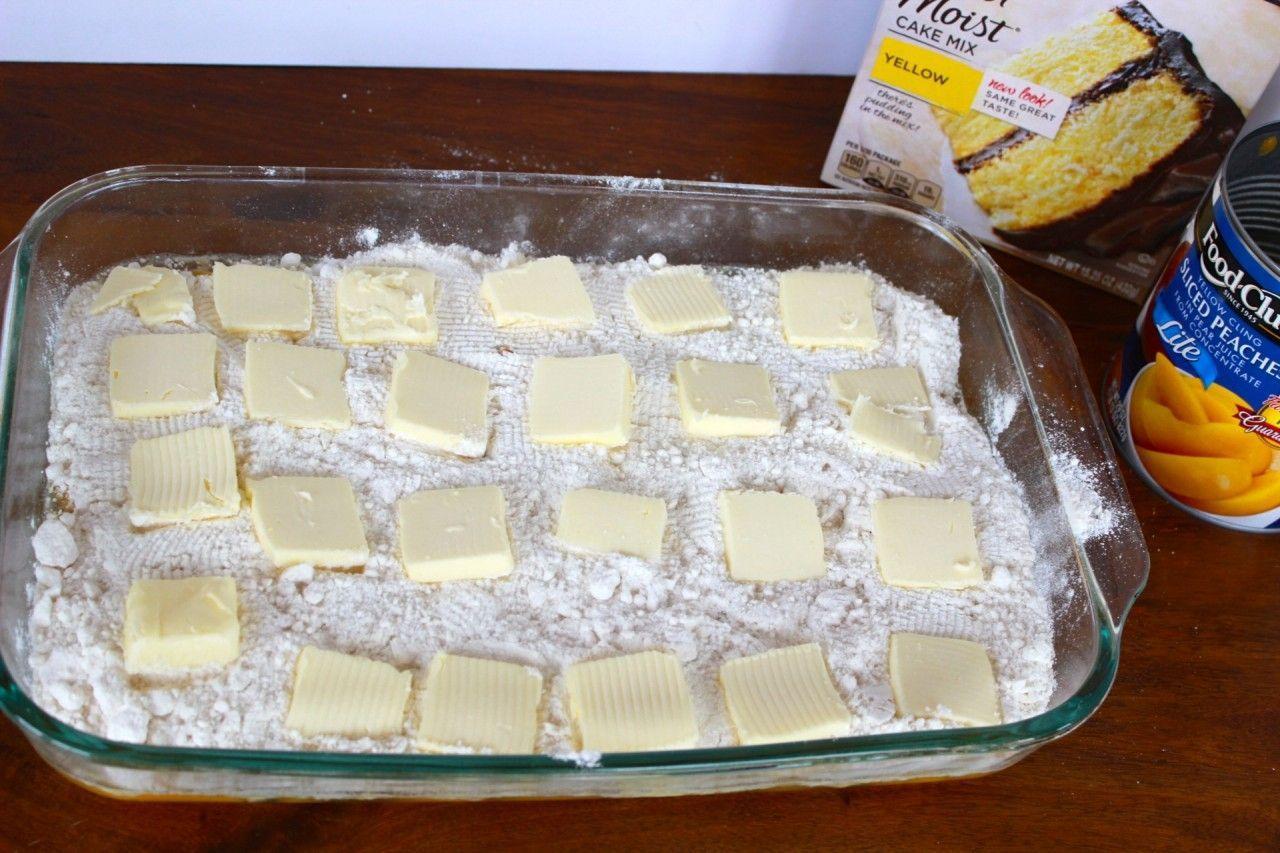 tres ingredientes tarta de melocotón