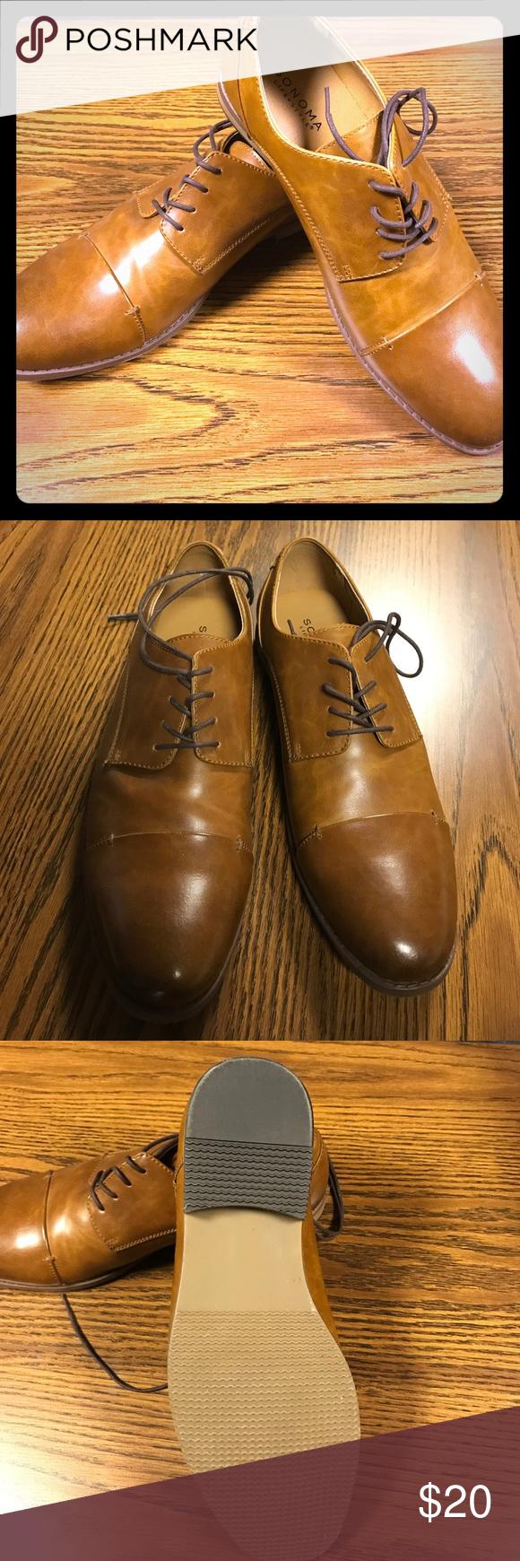 a811ebaac8a SONOMA Brendan Oxford Shoes - Men's 10 1/2 Camel colored casual ...