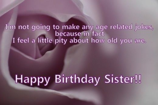 Happy Birthday Wishes and Quotes for Your Sister | IDEAL FOR
