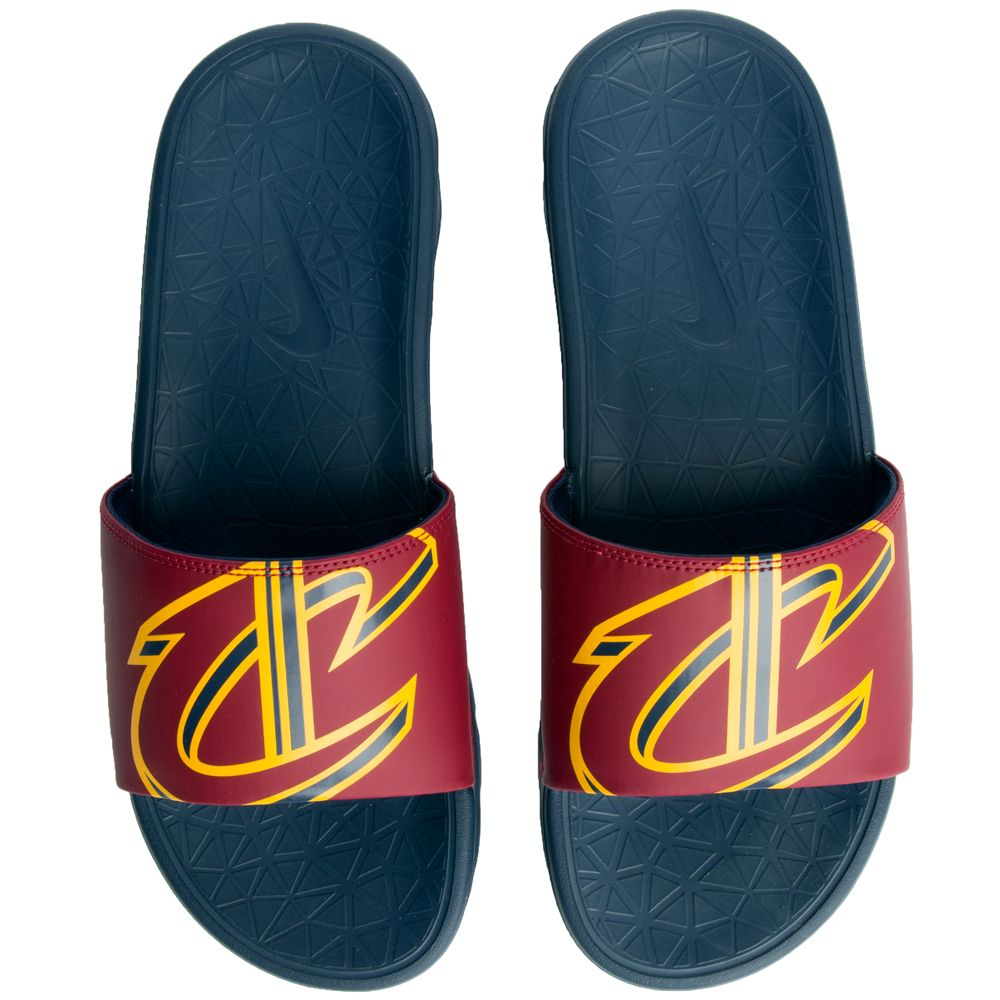 bb157123bcafe Nike Men s Nike Benassi Solarsoft Nba Team Red university Gold-college Navy