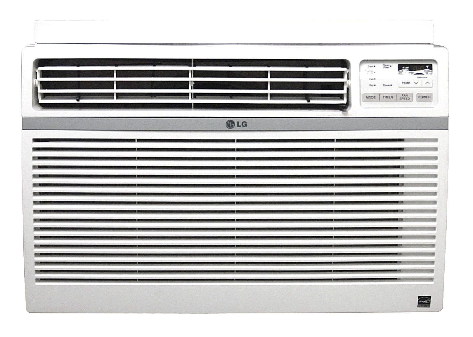 LG LW2516ER 25,000 BTU 220V Window A/C Remote & Window