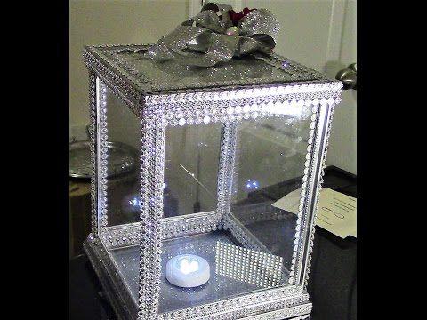 Diy Dollar Tree 100 Glass Card Money Keepsake Box