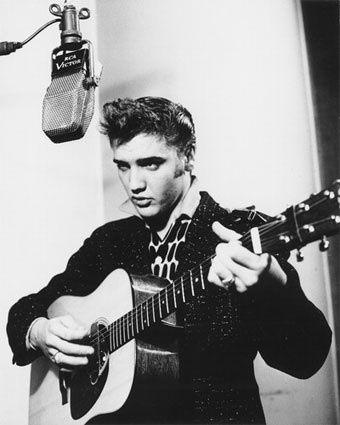 Elvis Presley rock-and-roll | Elvis Presley | Pinterest | Musik