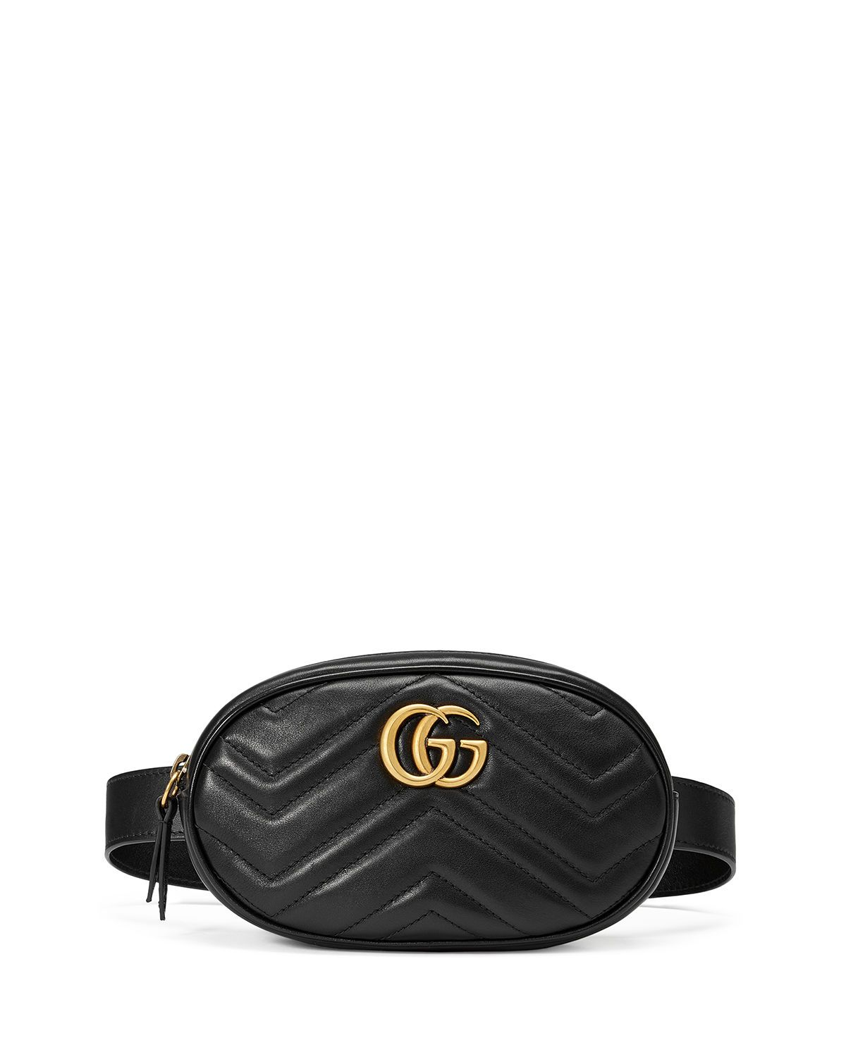 d30748bb9d7 GG Marmont Small Matelasse Leather Belt Bag