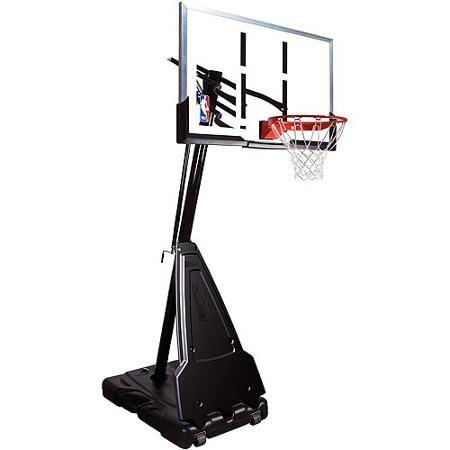 Spalding 68564 54 Acrylic Portable Basketball System Walmart Com Spalding Basketball Hoop Portable Basketball Hoop Adjustable Basketball Hoop