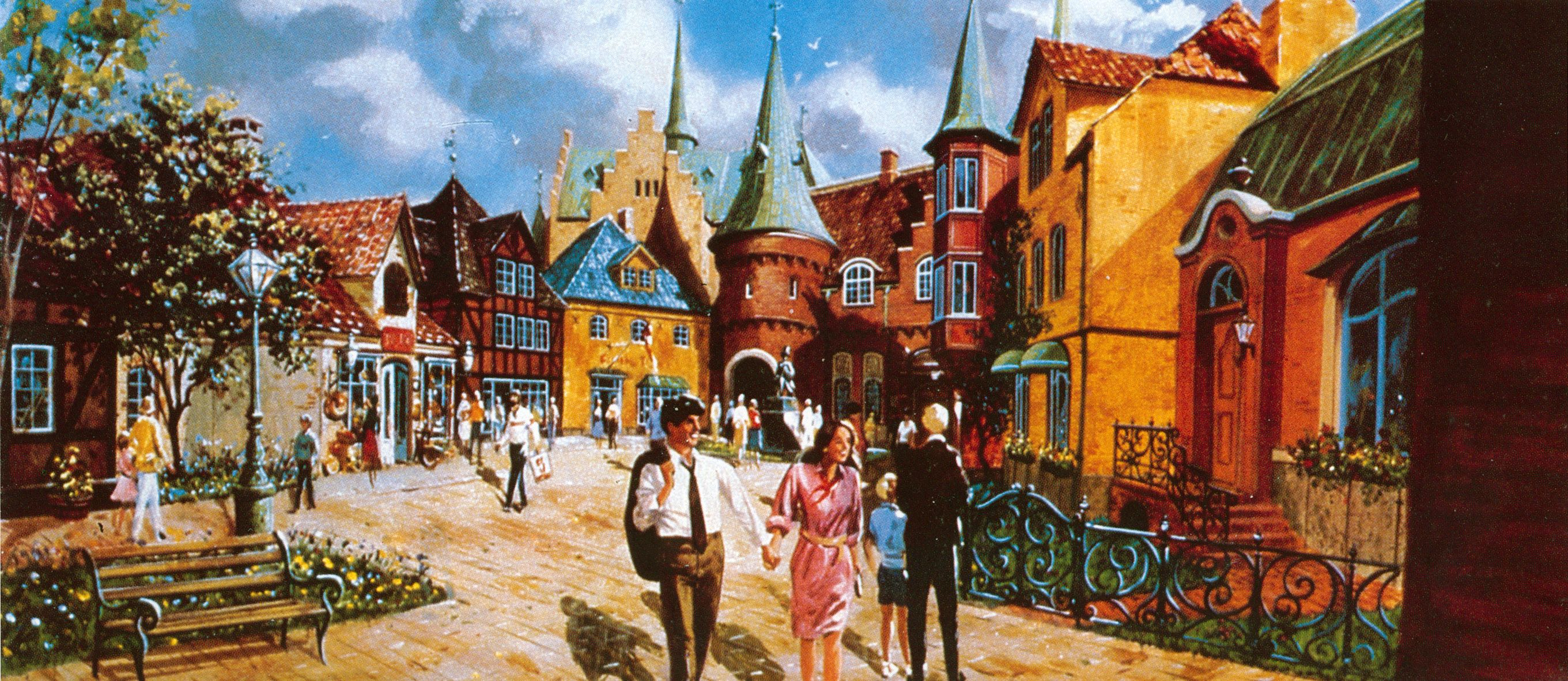 Disney Epcot Center Concept Art Pics
