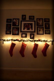 Image result for hanging stockings without mantle | Celebrate ...