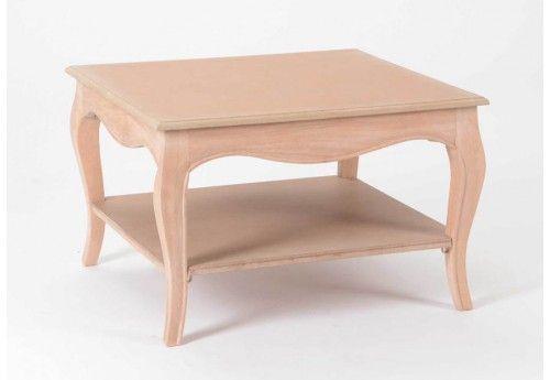 Table Basse Carre 2 Plateaux Pret A Peindre Merveille Amadeus Am 12 Table Basse Table Basse Design Pas Cher Table Basse Bois Massif