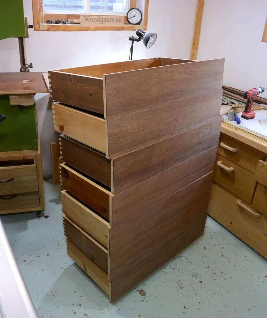 Making dresser drawers