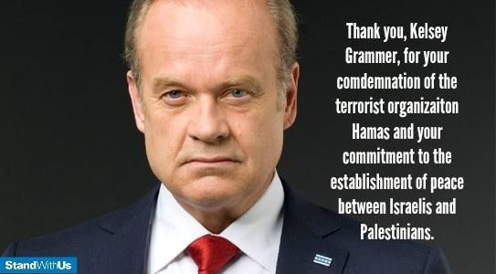 Image result for Kelsey Grammer and Zionism