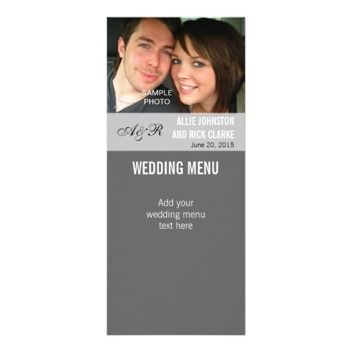 See MoreModern Photo Wedding Menu Cards Personalized Announcementslowest price for you. In addition you can compare price with another store and read helpful reviews. Buy