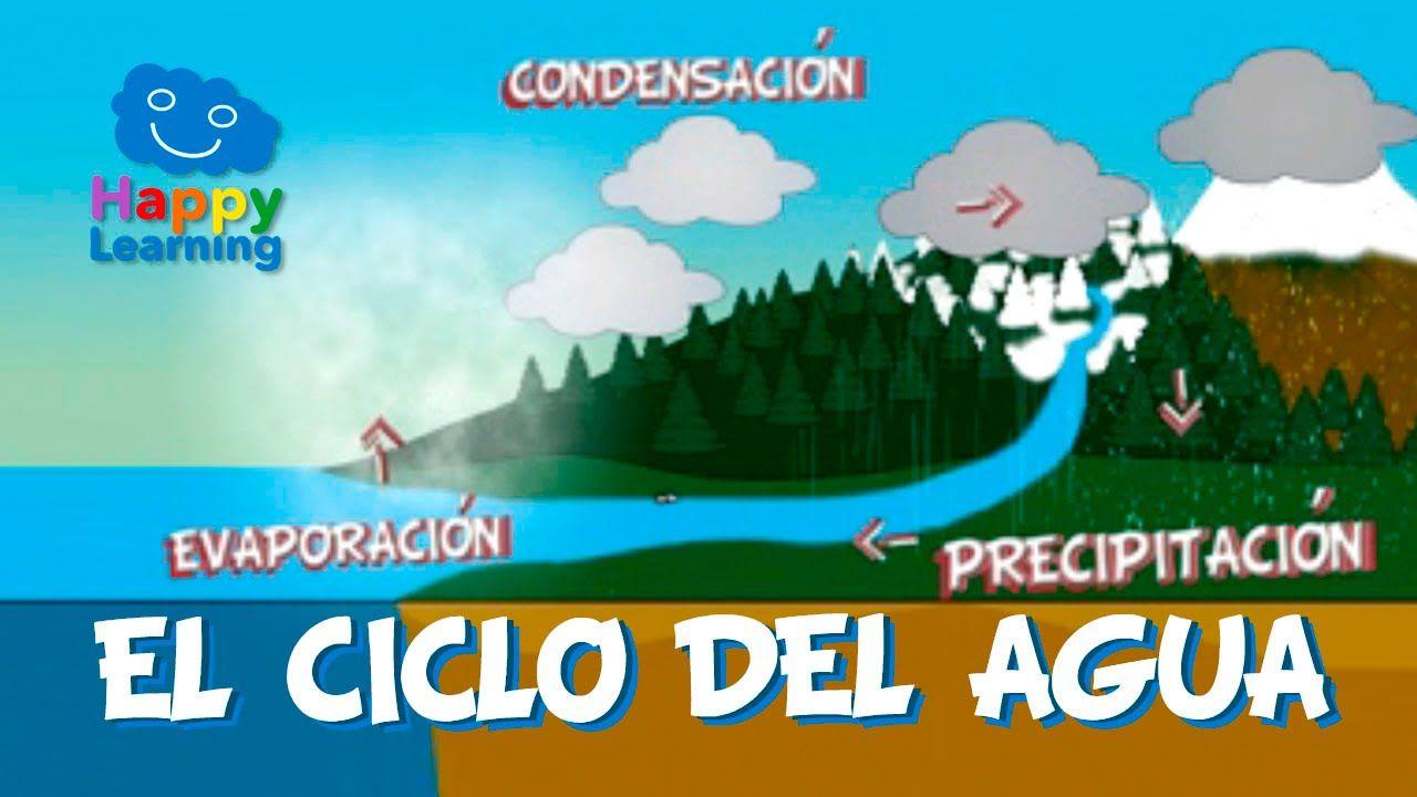 El Ciclo Del Agua Videos Educativos Para Niños Ciclo Del Agua Videos Educativos Clases De Ciencias