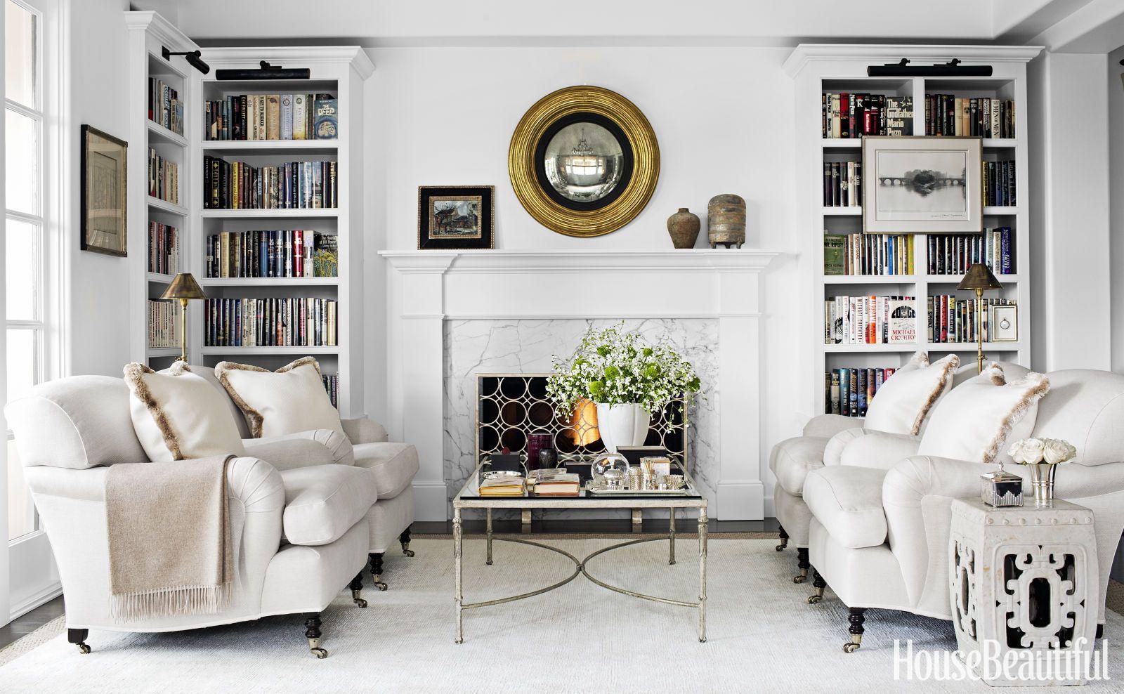 145+ Fabulous Designer Living Rooms | Monochromatic decor, Living ...