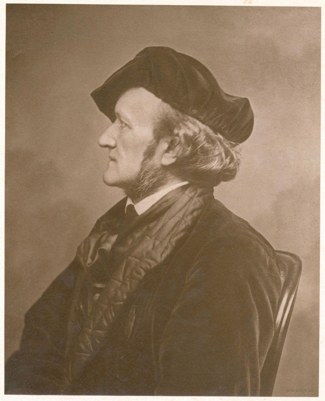 Adolphe Braun 1812 1877 Richard Wagner S Profile Bayreuth C