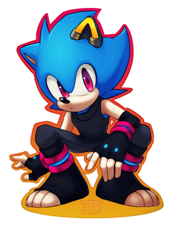 Hana The Seedrian - Sonic Fan Characters (recolors are