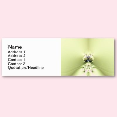 Green Meditation Business Card Template -Zazzle World- Pinterest - name and address template