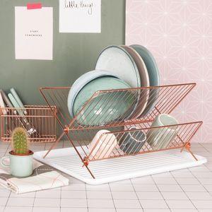 Copper Dish Rack Copper Home Accessories Copper Dishes