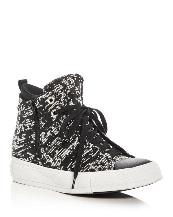 5fdaa2d4a82 Converse Chuck Taylor All Star Selene Winter Knit High Top Sneakers ...