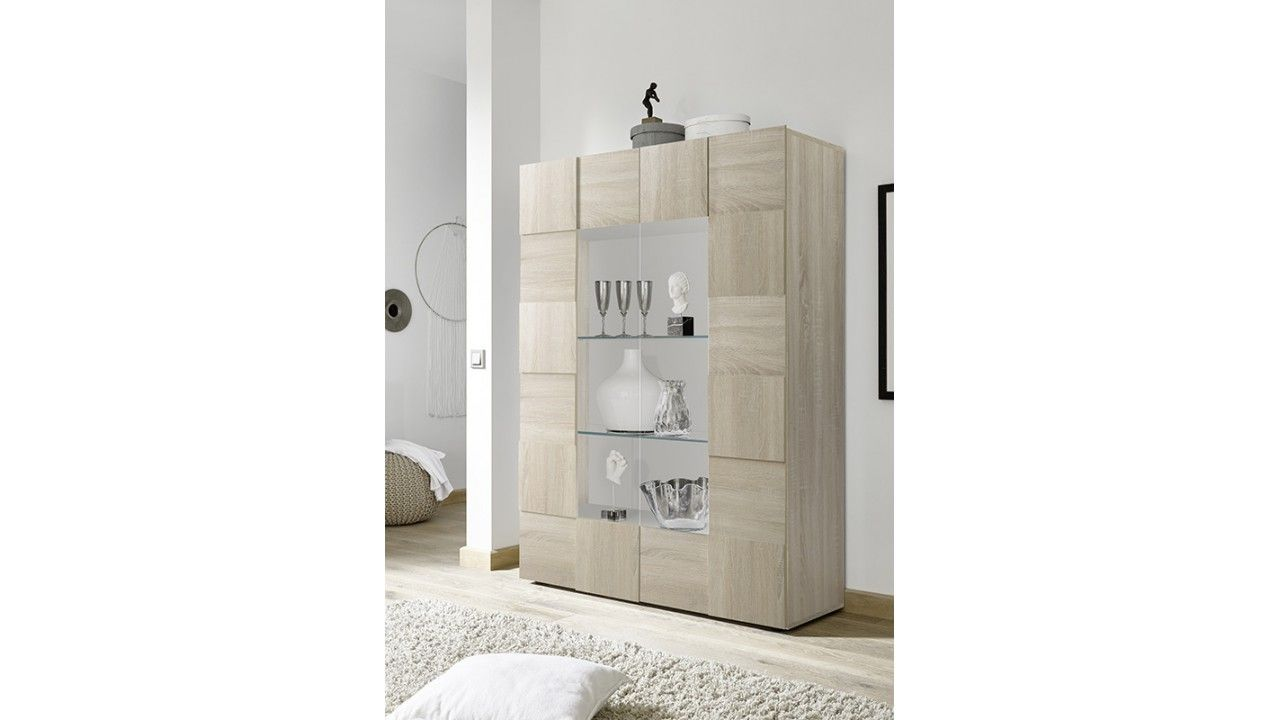 Bibliotheque Vitree Rangement Pour Salon Et Sejour Rangement Salon Meuble Design Meuble Rangement