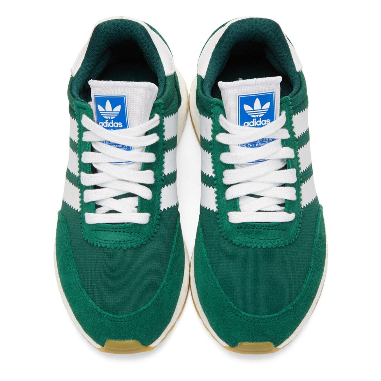 adidas Originals: Green I-5923 Sneakers