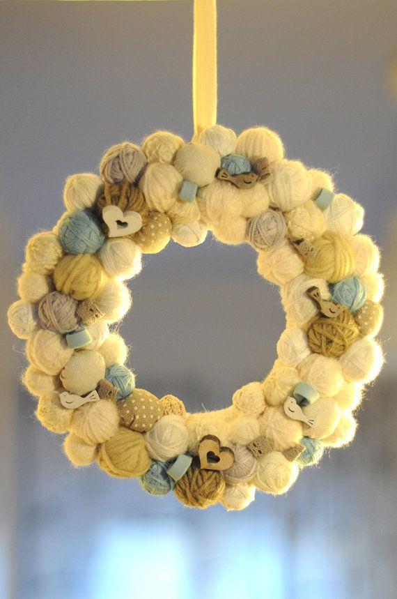 Photo of Baby birth-out door Wreath-Garland wreat-Handmade
