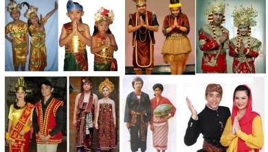 Pakaian Adat Indonesia Dan Gambar - BAJUKU