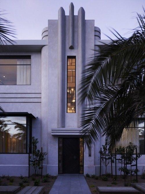 Art deco facade. middle park house ~ kpdo + cja by vickie | Unique ...