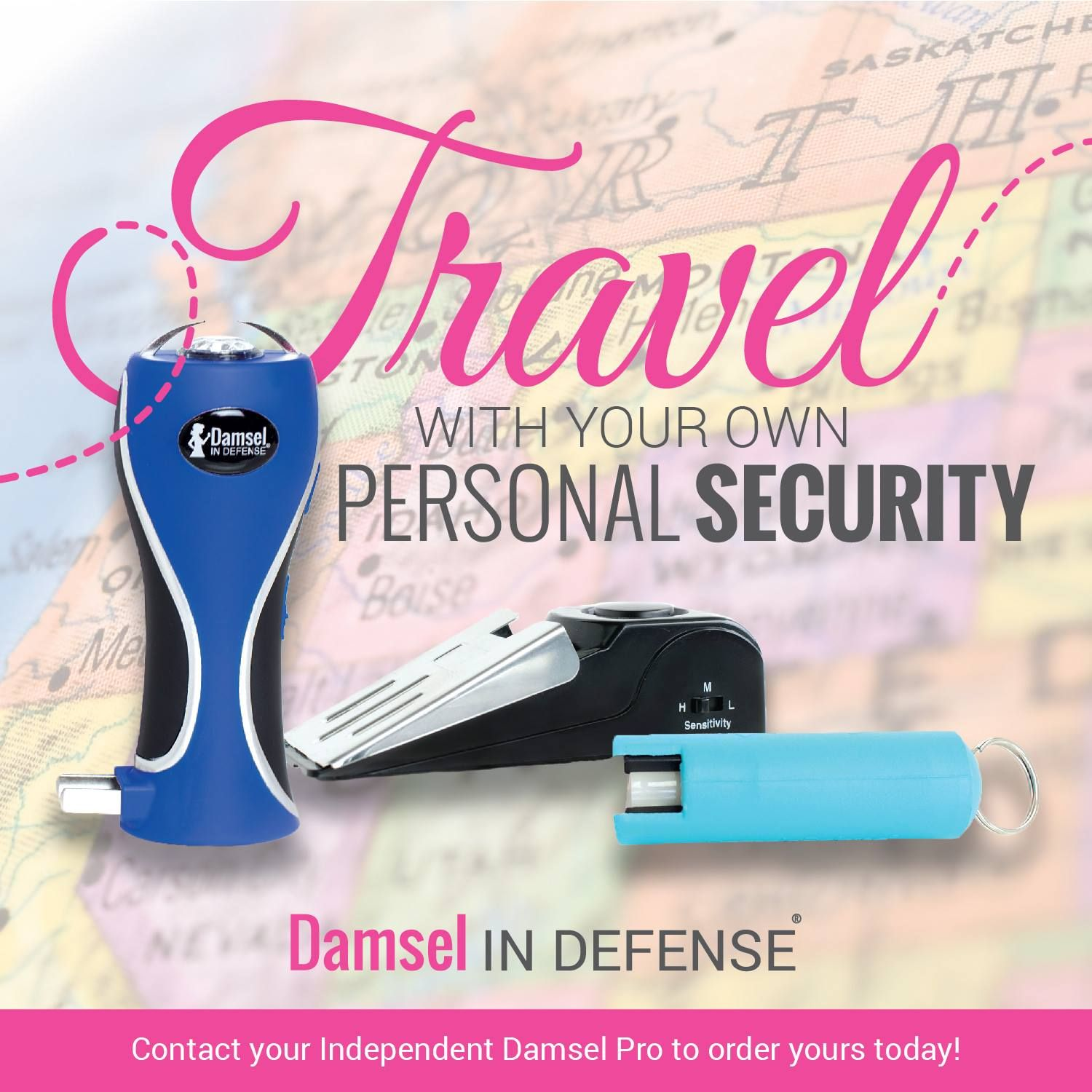 What do you take when you travel? www.facebook.com/damselpro1068