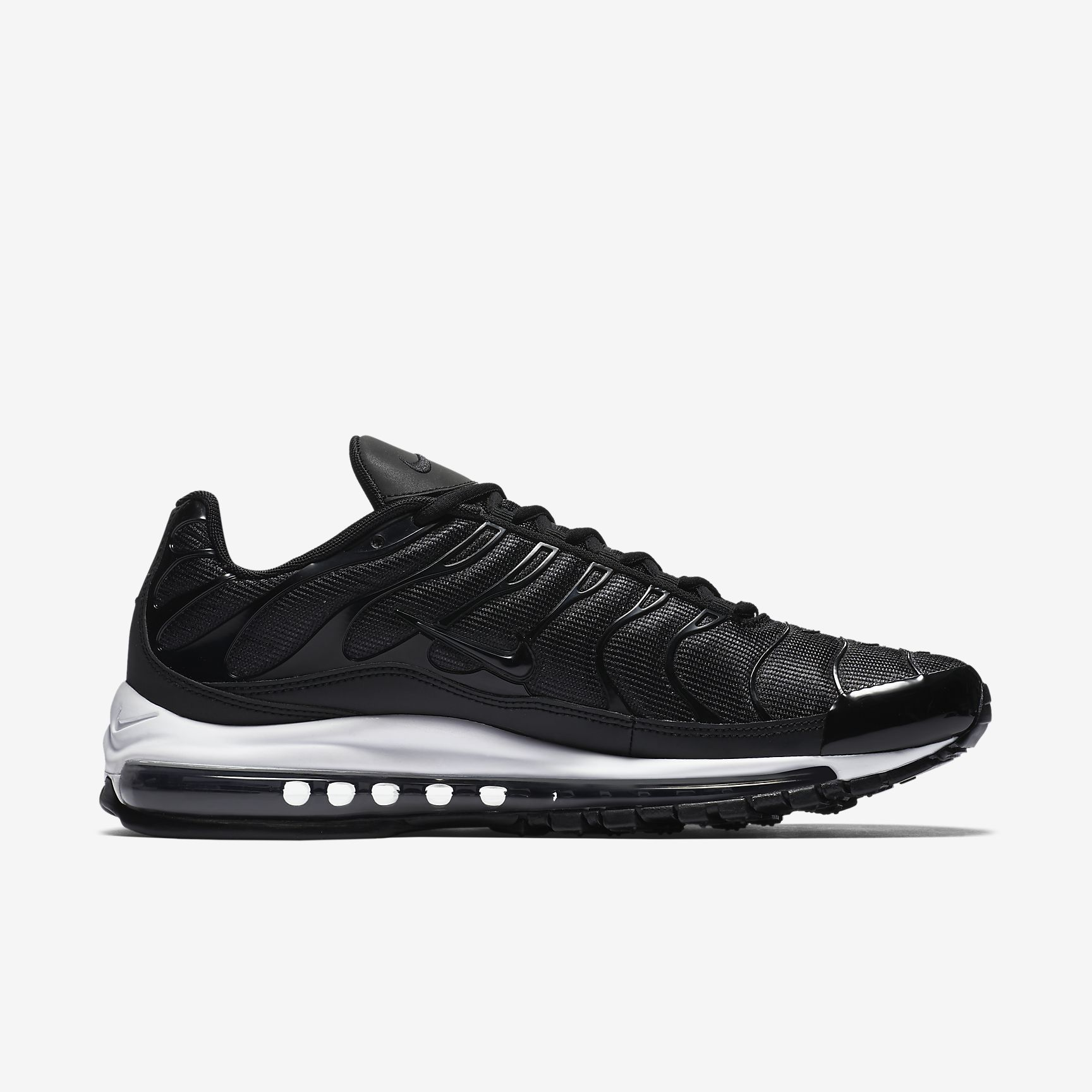 new product ca98a 75f89 ... spain nike air max 97 plus schwarz weiß anthrazit ah8144 001 682a2 9aaaf