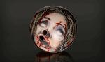 zombie head bowling ball