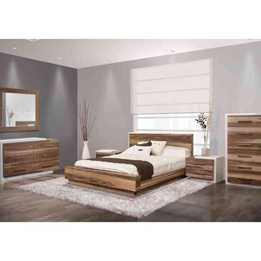 Mobilier de chambre à coucher Queen grand 2 places Tanguay Déco
