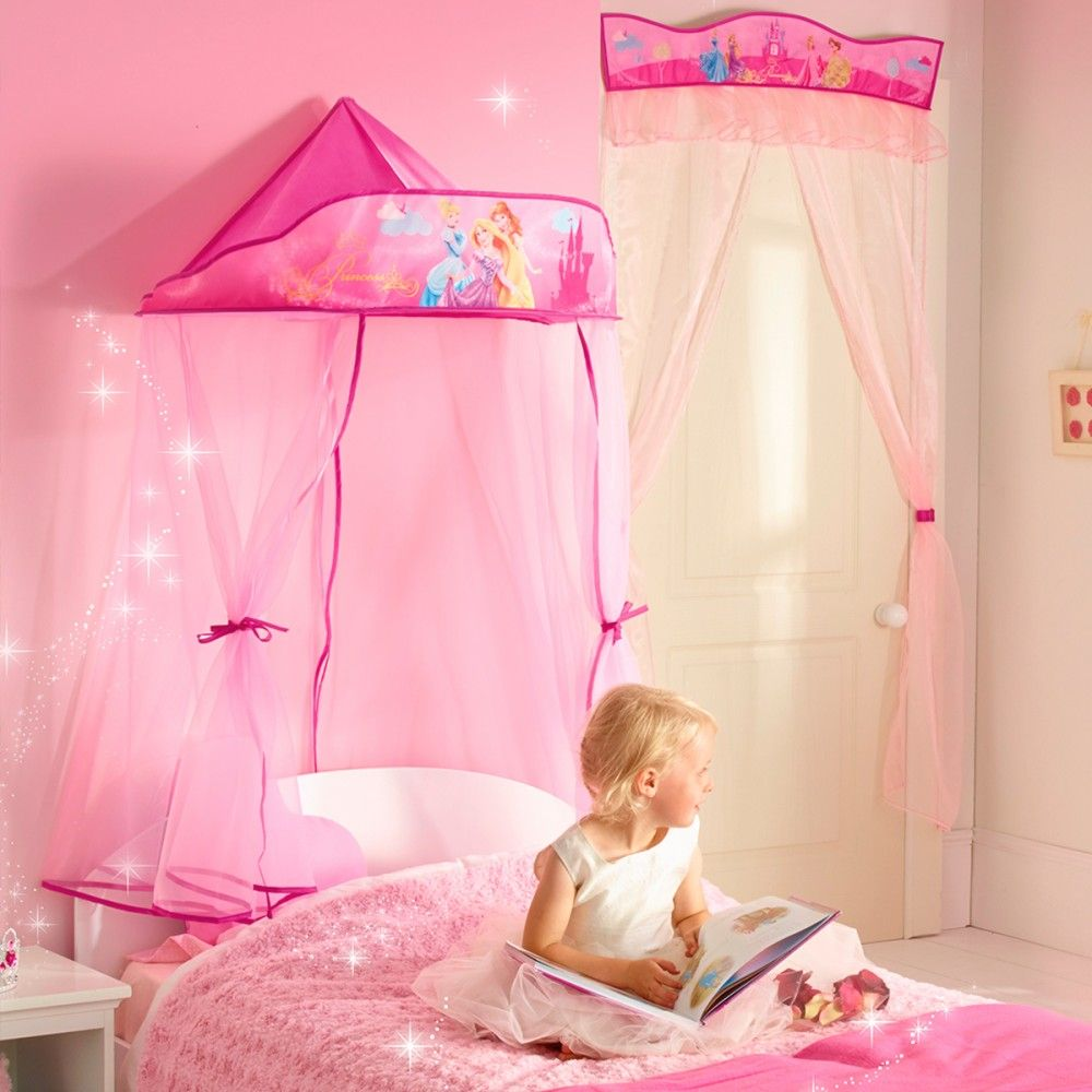 Disney Prinzessin Baldachin Schlafzimmer Bett