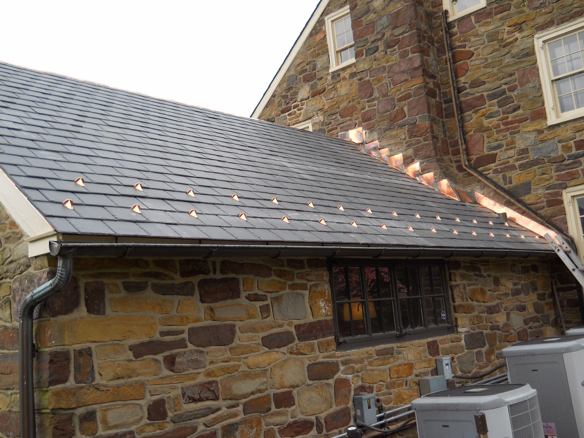 Pin On Copper Gutters And Roofs