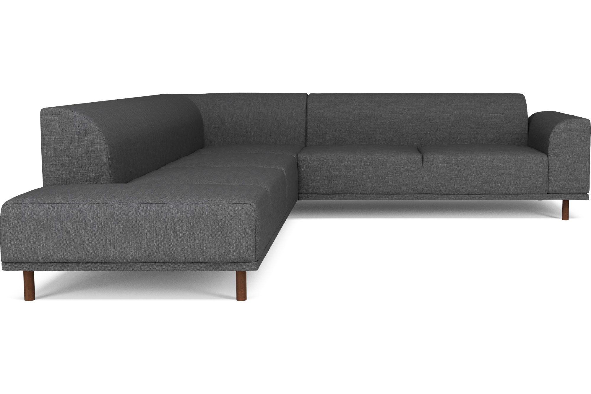 Hannah 7 pers ecksofa mit open end links ferienhaus sofa scandinavian design und link - Ecksofa skandinavisches design ...