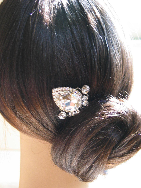 swarovski crystal hair pingorgeous! www.terrabacio
