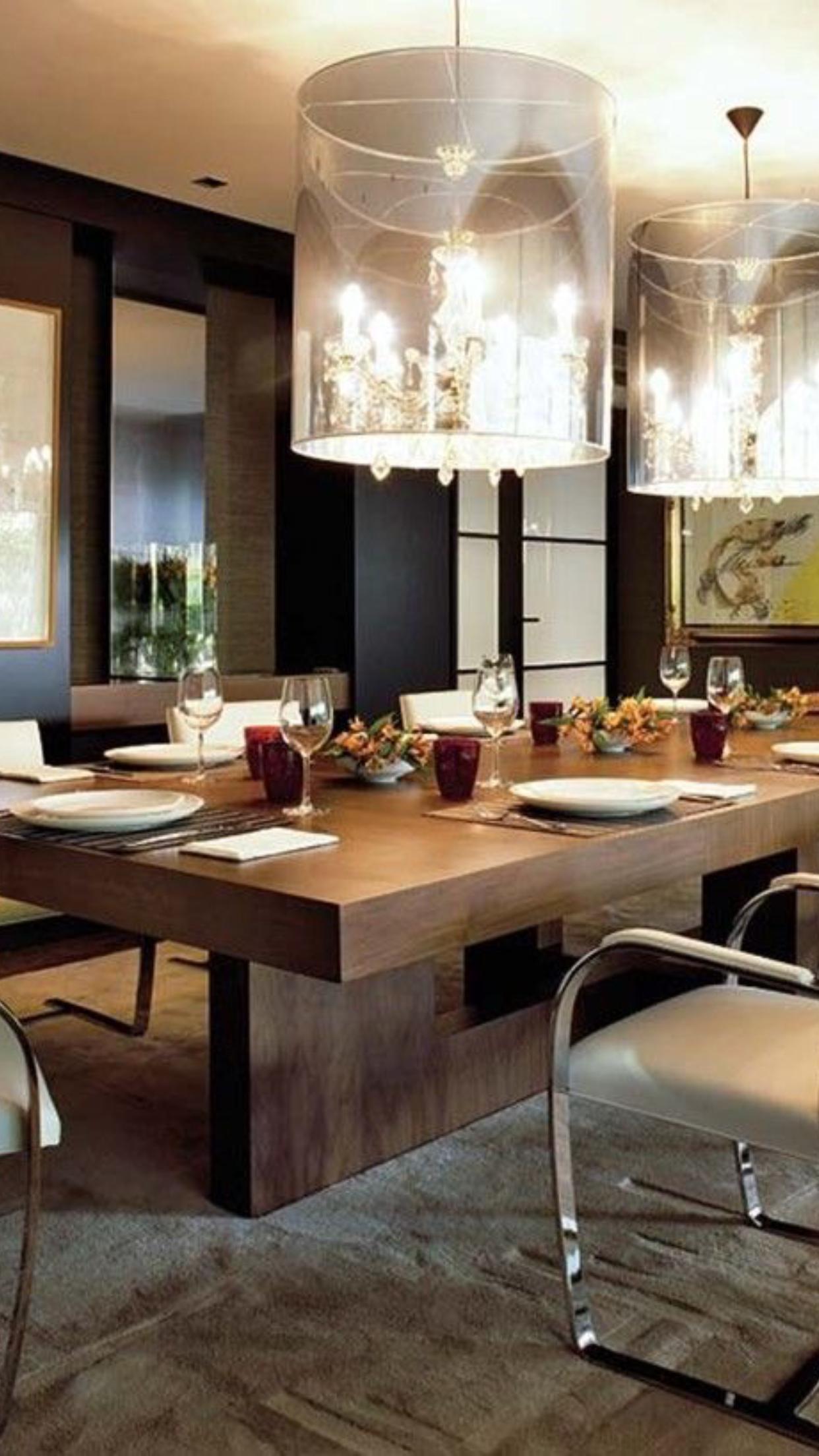 Pin By Kawita Lalsing On Mesas Dining Room Design Large Dining Room Dining Room Sets