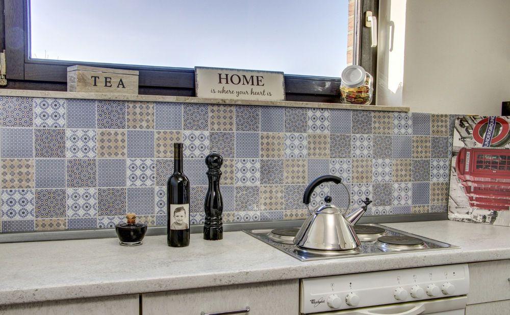 Details zu Küchenrückwand Fliesenspiegel Mosaik Keramik Design mix