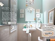 Behr Opal Silk This Is What We D Like To Do With The Upstairs Bathrooms Tile