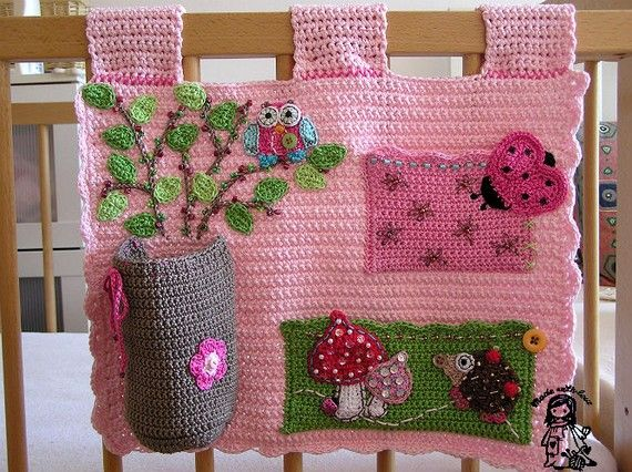Baby girl wallpocket organizer PATTERN by VendulkaM on Etsy, $6.50