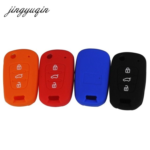 jingyuqin silicone car flip key cover case for kia rio k2 k5jingyuqin silicone car flip key cover case for kia rio k2 k5 sportage sorento for hyundai i20 i30 i35 ix20 ix35 solaris verna review