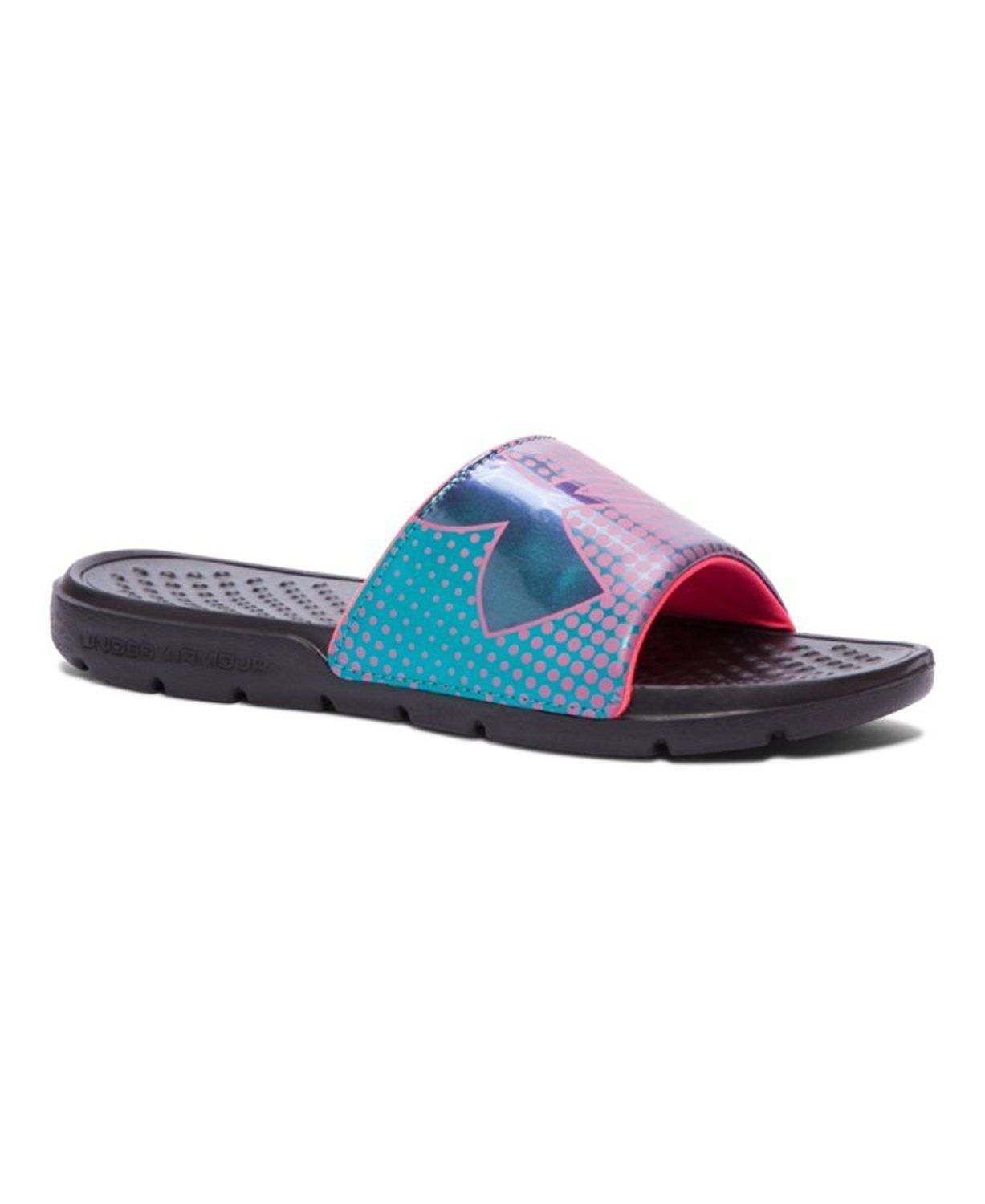 best service 07093 10647 Under Armour Girls  UA Strike Ombre Slides    Unbelievable item right here!    Girls sandals