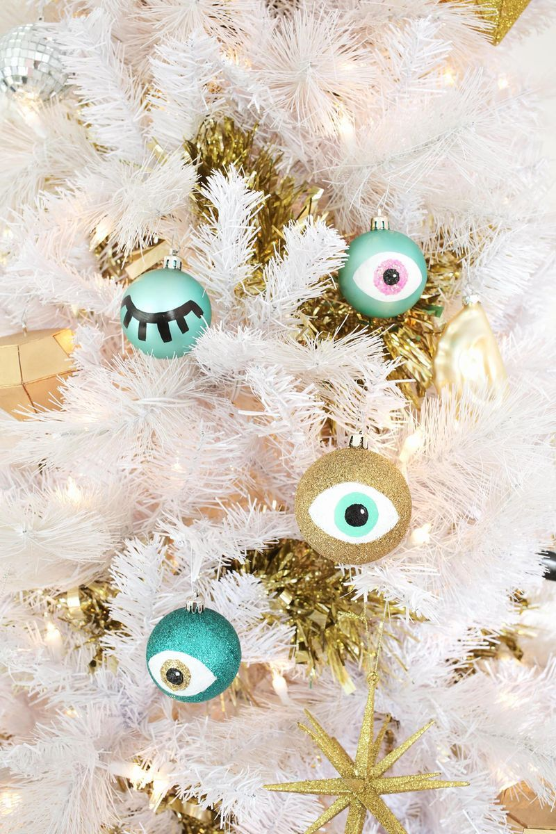 step by step home decor catalogs design idea and decors.htm eye ornament diy  with images  ornaments diy  modern christmas  eye ornament diy  with images