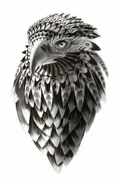 Eagle Tattoo Tribal Tatuaje Aguila Tribal Tattoos Pinterest