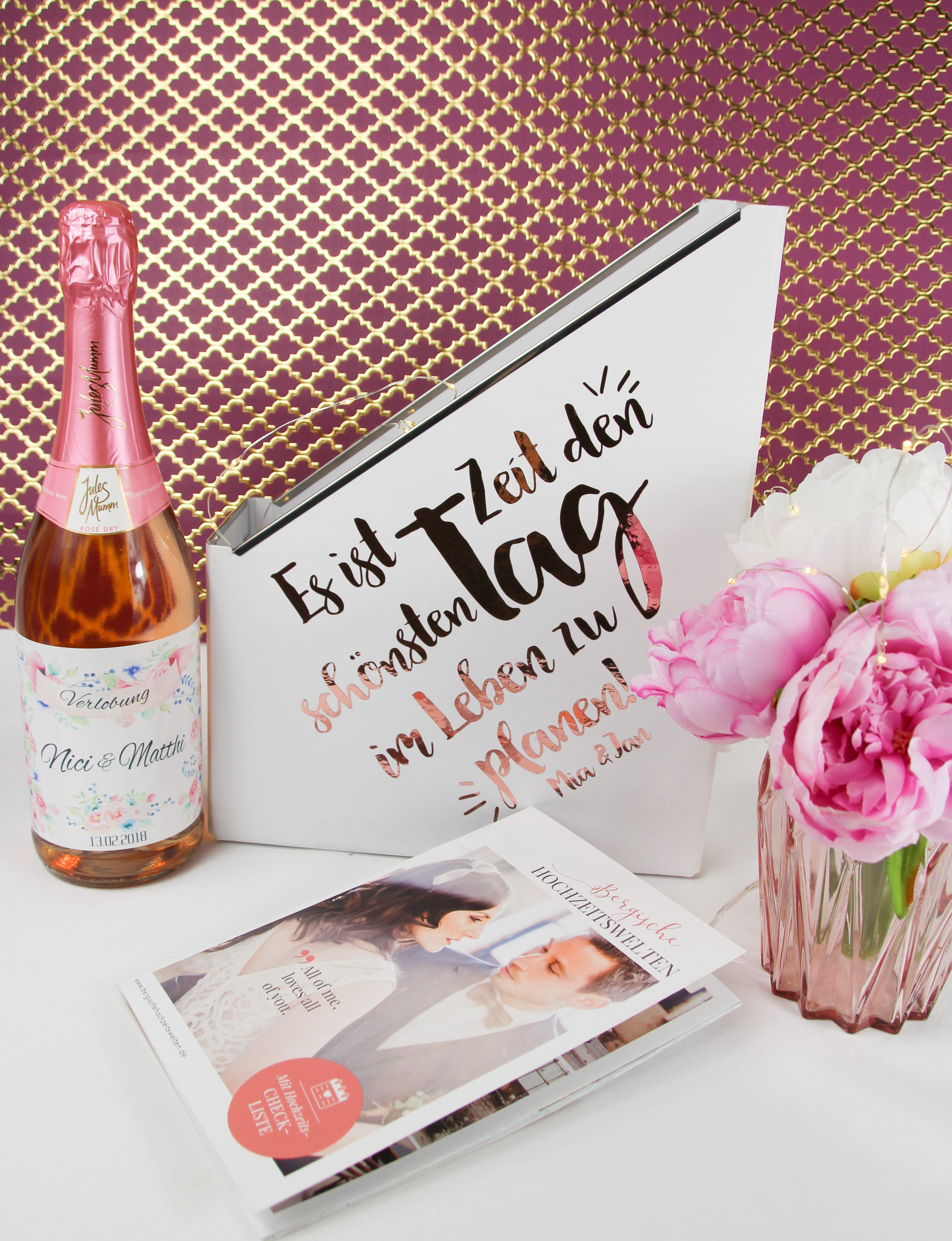 Stehsammler Rosegold Hochzeit Geschenke Zur Verlobung Hochzeit Shop Rosegold Hochzeit