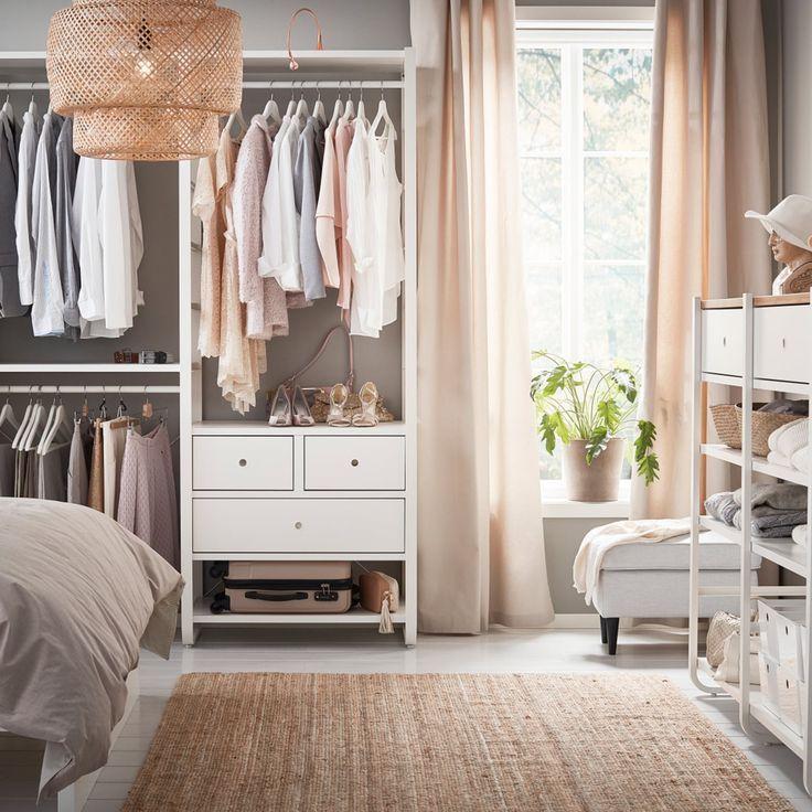 Offene & elegante Aufbewahrung   Kleiderschrank ideen ...