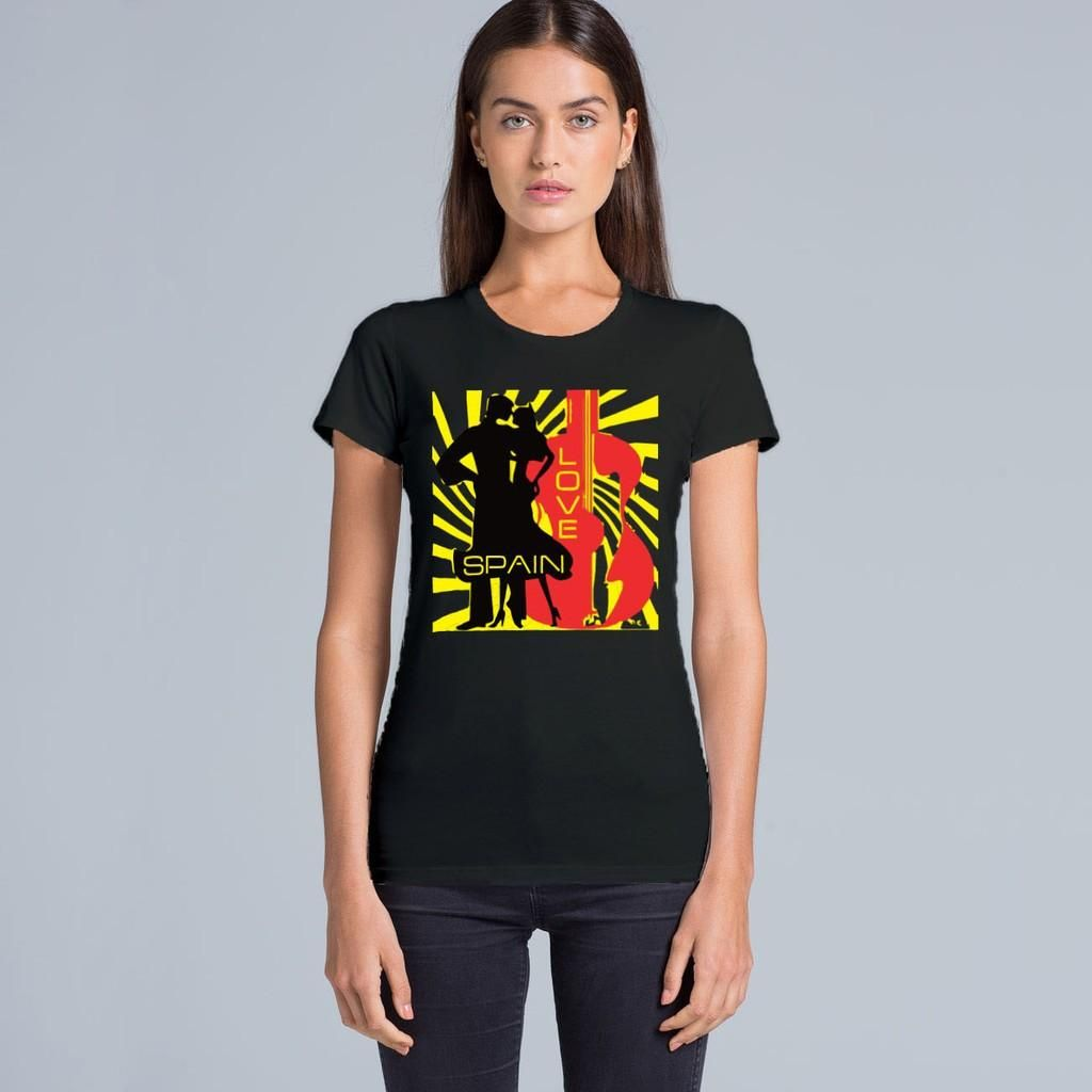 Love SPAIN #tee for ONLY 20 bucks, get it now!!!  http://www.verozzie.com/products/wafer-tee-spain-love  #womenfashion #womenswear #loveshopping #flamenco #australia #outfit #motivated #melbourne #melbournelife #verozzie #melbourneblogger #spain #instaday #instapic #instacute #style #trending #customdesign #music