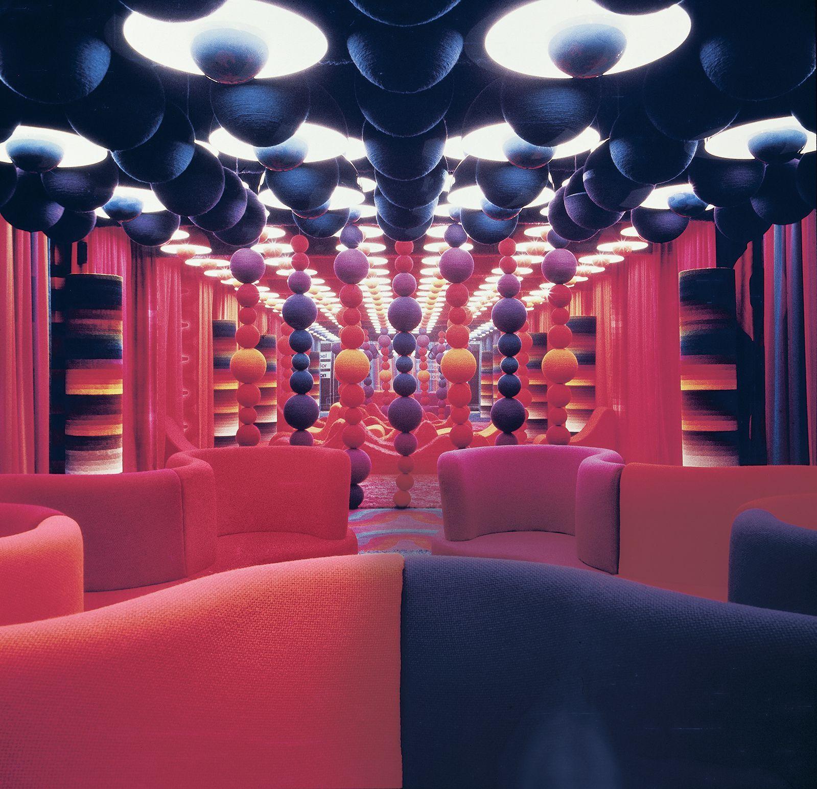 A Revitalized Bordeaux Offers A Lot More Than Wine But That Too Retro Interior Design Futuristic Interior Interior Architecture Design