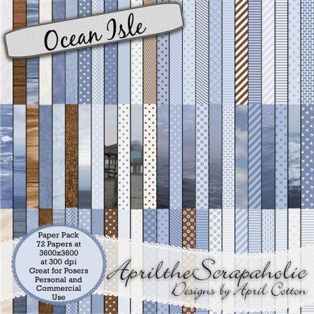 Ocean Isle - Paper Pack - CU/PU